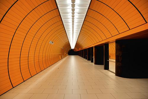 Munich Subway Tunnel