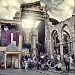 Entrance for Souq Al Hamidiyya - Damascus by Khalid Almasoud