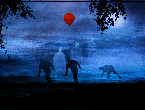 Red Balloon by H.Koppdelaney