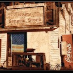 The Ward General Store by Richard Saxon