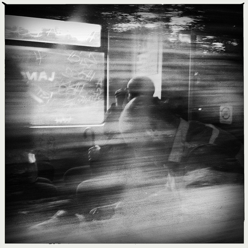 Through the Train Window by Merton Wilton