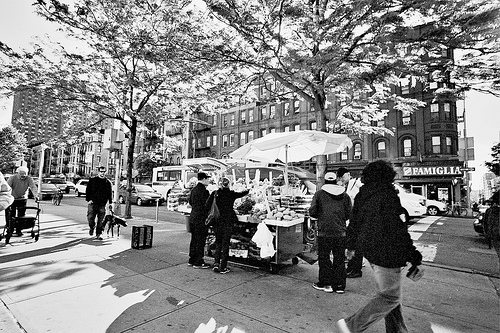 Fruit Stand by Charley Lhasa