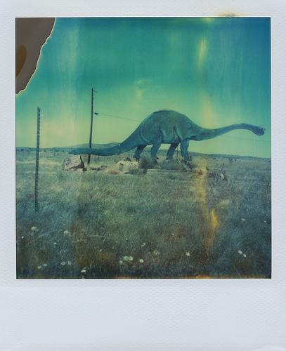 Escaping Dinosaur by Daniel Gonzalez Fuster