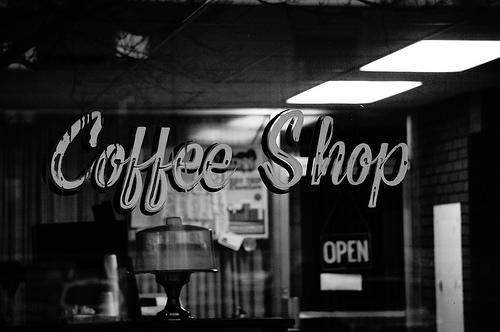 Coffee Shop by Charlene Simmons