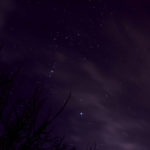 Night Sky Shot With Clouds by Jacob Caddy
